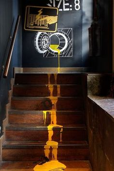 20 Paint Staircase Ideas 038 Pictures A Guide How to DIY Paint a Staircase 20 Paint Staircase Ideas 038 Pictures A Guide How to DIY Paint a Staircase Gewichtsverlust gewichtfotos Gewichtsverlust 20 Paint Staircase nbsp hellip walls cafe Coffee Shop Design, Cafe Design, Restaurant Interior Design, Office Interior Design, Office Designs, Office Interiors, Staircase Pictures, Staircase Ideas, Deco Cool