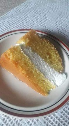 Μπαμπάς σιροπιαστός με μπόλικη σαντιγί. Πολύ ωραίος.. - Χρυσές Συνταγές French Toast, Pudding, Breakfast, Desserts, Food, Morning Coffee, Tailgate Desserts, Deserts, Custard Pudding