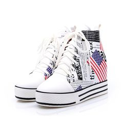 New style fashion pattern printing decoration casual shoes Z-JQ-968-1