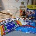 Marshmallow fondant: Cake Boss recipe   Ingredients 16 oz mini-marshmallows, 2 lb powdered sugar, 1 tbsp water, 1 tsp corn syrup (optional), 1 tsp lemon extract (optional). Yield: 3 lbs fondant