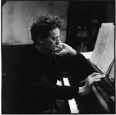 Philip Glass, one of most influentialcontemporary classical composers today. Glass, while he does not define himself as a minimalist, is often considered one of the leading figures in minimalist music.