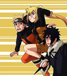 Naruto, Naruko y Menma Uzumaki Naruto And Sasuke, Naruto Fan Art, Naruto Girls, Naruto Shippuden Sasuke, Anime Naruto, Menma Uzumaki, Boruto, Naruhina, Sasunaru
