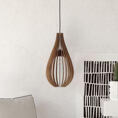 wood pendant light handmade ceiling hanging light modern lamp design art decor #DEZAART #Contemporary #pendantlight #pendantlighting #chandelier #art #design #decor #modern #wood
