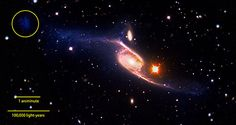 NASA - NASA's GALEX Reveals the Largest-Known Spiral Galaxy