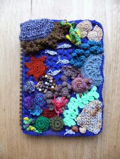 String Theory Crochet: Free Form Rock Pool and Christmas Decorations
