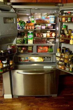 KitchenAid French Door Refrigerator   @Sandy | Reluctant Entertainer For @ KitchenAid