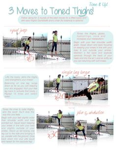 3 Moves for legs