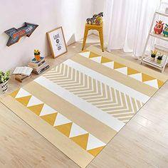 Decoration, Kids Rugs, Contemporary, Home Decor, Amazon Fr, House 2, Home Kitchens, Industrial Salon, Abstract Pattern