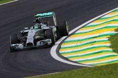 Gp Brasile, libere 2: Rosberg apre le danze