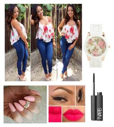 """""""Untitled #86"""" by vpiota ❤ liked on Polyvore featuring Aéropostale and NARS Cosmetics"""