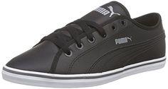 Puma Elsu v2 SL, Unisex-Erwachsene Sneakers, Schwarz (black-black 01), 45 EU (10.5 Erwachsene UK) - http://besteckkaufen.com/puma/45-eu-puma-elsu-v2-sl-unisex-erwachsene-sneakers