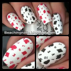 """Up Close and Personal with """"The Card Shark Mai""""... Fun4-from FabUr Nails"""