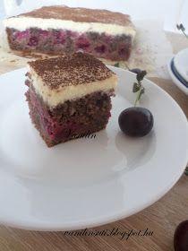 Süss Vanilinnel!: Kakaós-meggyes sütemény fehércsokoládés mascarpone krémmel Tiramisu, Ethnic Recipes, Food, Mascarpone, Essen, Meals, Tiramisu Cake, Yemek, Eten
