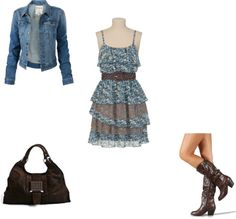 """""""Back to school outfit #5"""" by rainey224 on Polyvore"""