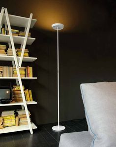 #work Moderne Aluminium-Stehleuchte (indirektes Licht) PRINCE by Donegani & Lauda Rotaliana