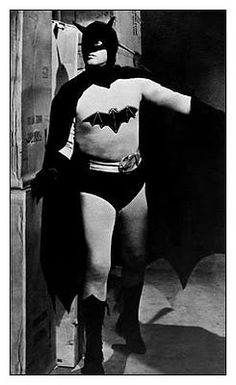 Robert Lowery in the suit from Batman 1949