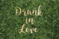Drunk In Love Quote Song Bride Wedding Trendy Printed Calligraphy Cust – Trippygypsy