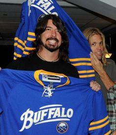 Dave Grohl likes Buffalo!