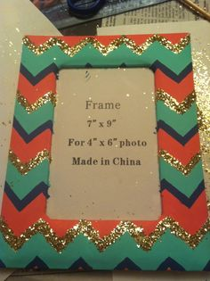 diy craft ideas. cute way to change a simple picture frame into something adorable!