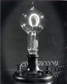 Edison bulb floor mount.