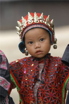 Woven through culture: Miao people, living mostly in southwestern China, are known for their unique dresses and dazzling silver ornaments.