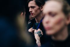 Le 21ème | Backstage at Holzweiler, Fall/Winter 2016/2017 | Oslo