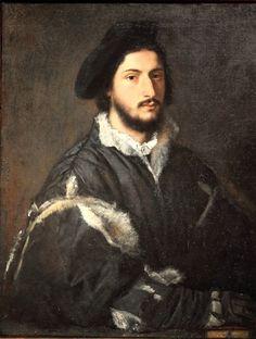 Тициан (1490-1576). Портрет Томмазо или Винченцо Мости. 1520