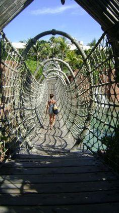 Dakota Wilson in the Bahamas
