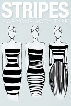 How to wear stripes for your body type? The shortcut to Spring Style