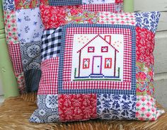 Dutch house pillow by dutch-colours, via Flickr