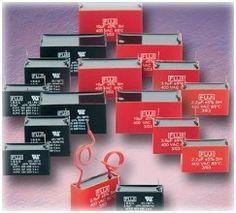 Box type Fan & Motor starting Capacitor-Capacitors