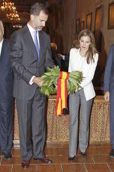Los Príncipes de Asturias honran al Fray Junípero Serra en su primera parada en California
