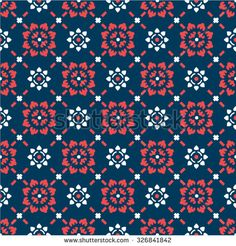Seamless Pattern Thai art