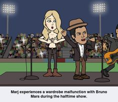 Me and Bruno Mars