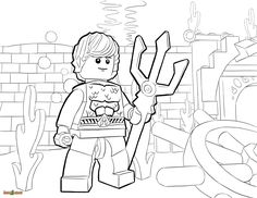 Lego Marvel Superheroes Batman And Superman Coloring Page