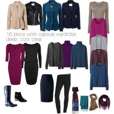 Work capsule wardrobe by lillyicity on Polyvore featuring Uniqlo, L.K.Bennett, ONLY, MANGO, Vero Moda, Banana Republic, Alexander McQueen, ASOS, Linea and Emilio Pucci