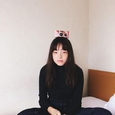 I love the playfulness of this one. Sulli, Japanese Models, Japanese Girl, Japan Fashion, Girl Fashion, Fashion Photo, Aesthetic People, Film Inspiration, Pretty Makeup