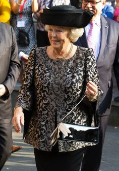 Princess Beatrix, September 20, 2014   Royal Hats.... Posted on September 24, 2014 by HatQueen .... Princess Beatrix of the Netherlands attended the 125th anniversary of the ecclesiastical Union of Utrecht.