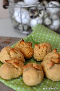 Egészséges, paleo húsvéti nyuszi kalács recept Pickles, Cucumber, Paleo, Potatoes, Easter, Vegetables, Food, Potato, Easter Activities