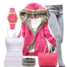 Casual in pink