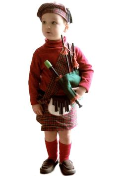 """The """"bagpipe"""" was a toy recorder and some straws glued to a felt """"pillow"""". Description from jenspends.com. I searched for this on bing.com/images"""