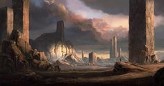 Pillars by merl1ncz on deviantART