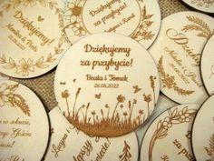 Zaproszenia ślubne laserowe, drewniane dodatki i dekoracje Save The Date, Coasters, Alcohol, Coaster, Wedding Invitation