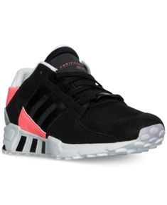 best sneakers 5ae06 db5d4 adidas Mens Eqt Support Refine Casual Sneakers from Finish Line - Black 10