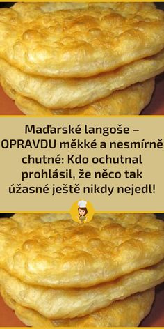 Slovak Recipes, Vegetarian Recipes, Cooking Recipes, Bakery, Appetizers, Food And Drink, Pizza, Sweets, Bread
