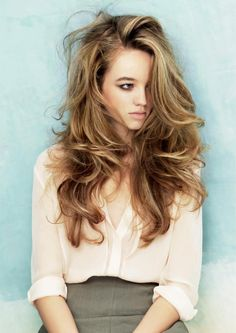 Loving this powder blonde. Inspiration for your next visit to the hair salon