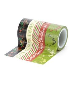 Washi Tape | Sleigh Bells Ring by My Mind's Eye