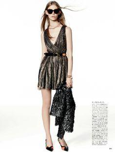 von5 Vogue Japan February 2014 | Ondria Hardin by Giampaolo Sgura [Editorial]
