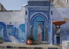Morocco's 'Blue' City, Chefchaouen