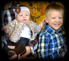 Fall - Sister & Brother